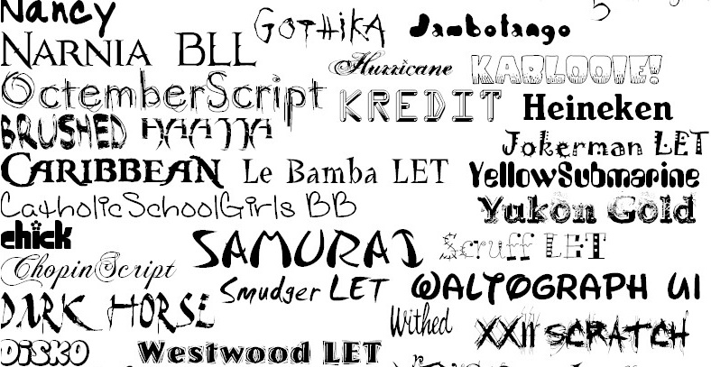 Fonts_by_Mr_Lays
